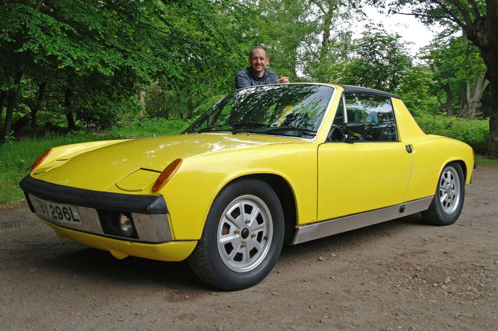 Richard Gooding and Porsche 914