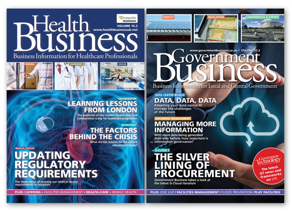 Health Business and Government Business magazines
