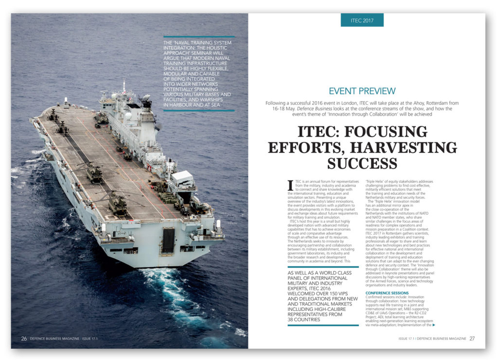 Defence Business magazine