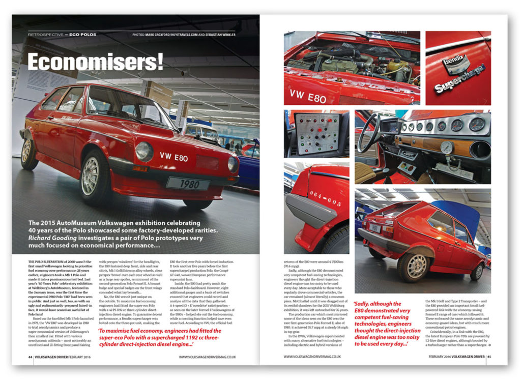 Volkswagen Driver magazine, February 2016