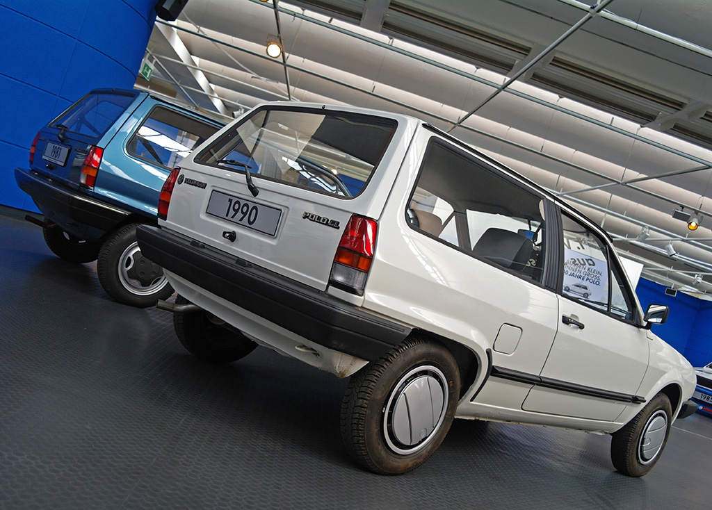 The second-generation Polos built at Zwickau were identical to those coming off the lines at Volkswagen's 'home' plant in Wolfsburg.