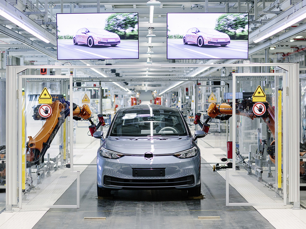 Production of the Volkswagen ID 3 began at Zwickau in November 2019.