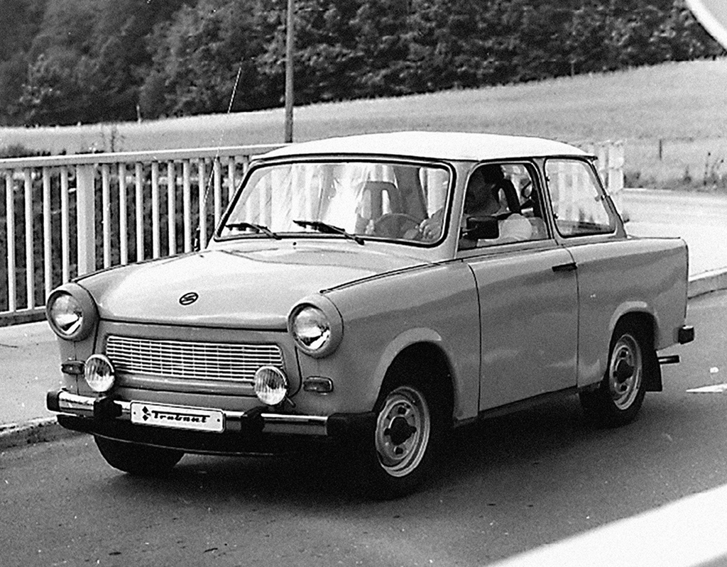 Trabant production begins at the former Horch plant in 1957.