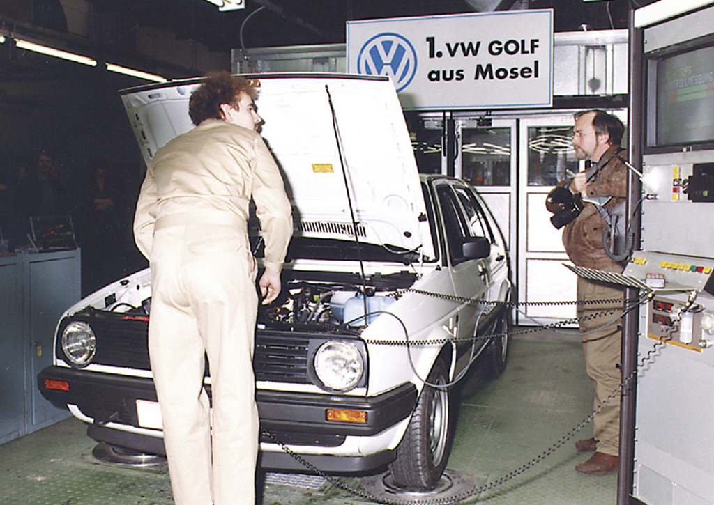 Golf production started at Zwickau in February 1991.